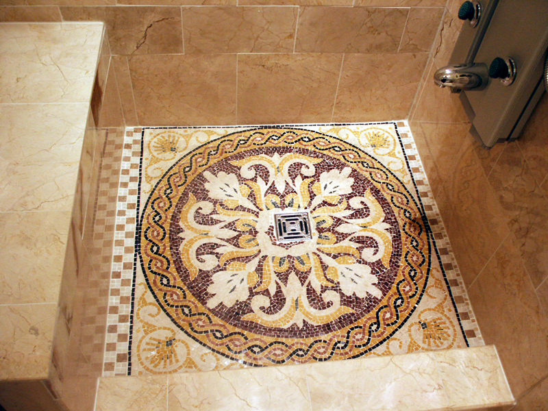 Bathroom Floor Mosaics Mosaic Marble Inspiration Gallery