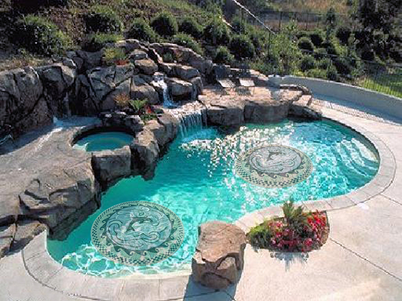 Swimming Pool Mosaic Designs Mosaic Marble Inspiration