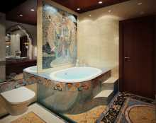 Bathtub Jacuzzi Mosaic Covers