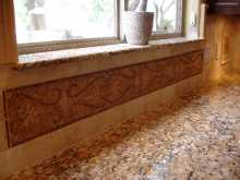 Mosaic Borders in The Kitchen