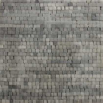 PM6 Thasos Light Grey Mosaic