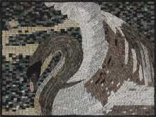 White Swan Magic Mosaic