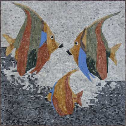 AN1131 Fish in the Sea Mosaic