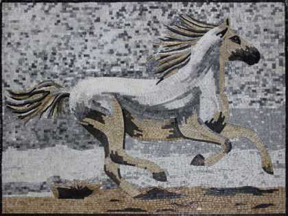 AN1148 Horse on the Shore Mosaic