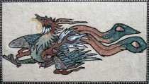 AN165 Small dragon  Mosaic