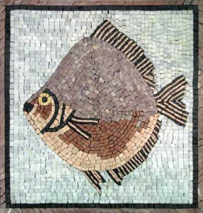 Big Wide Fish  Mosaic