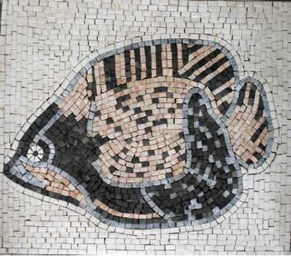 AN38 Big fish Mosaic