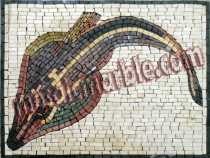 AN389 Long tail fish Mosaic