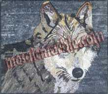 AN535 Wolf head Mosaic