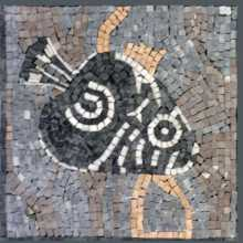 AN66 Fish stone tile