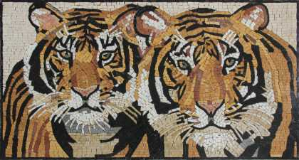Tigers Horizontal Wall Art