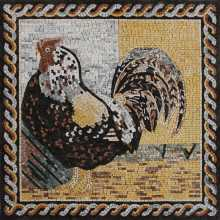 Majestic rooster Mosaic