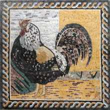 AN84 Majestic rooster mosaic