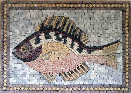 AN89 Beautiful fish Mosaic