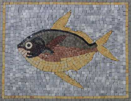 AN904 Animal Fish Underwater Handmade Art  Mosaic