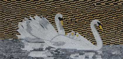 AN957 Swan Lake  Mosaic