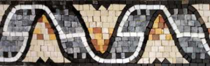 BD286(Polished) Border Mosaic