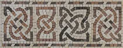 BD407 Celtic Motif Border Mosaic