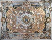 CR12 Large Majestic Carpet Design Marble Mosaic