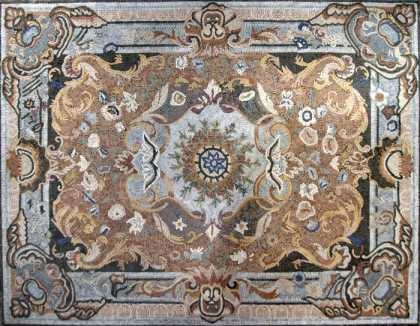 CR12 Large Majestic Carpet Design  Mosaic