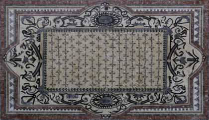 CR1210 Earth Colors Carpet Mosaic