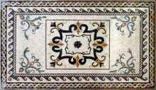 CR122 Artistic multi design carpet Mosaic