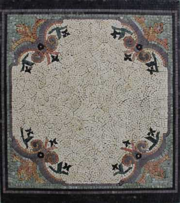 CR1231 Autumn Spirit Stone Floor Carpet Decor  Mosaic