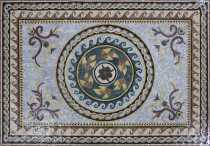 CR1253 Handmade Rug Artistic Carpet Home Design  Mosaic