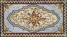 CR141 Majestic Design Carpet Marble Mosaic