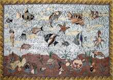 CR195 Diverse sea creatures Mosaic