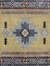 CR462 Rectangular indian style patterns Mosaic