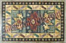 CR469 Rectangular patchwork pattern Mosaic