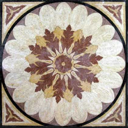 CR5 Burgundy gold & white beautiful flower