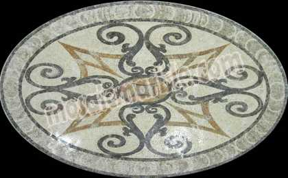 CR506(Polished Rug) Mosaic