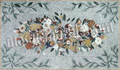 CR563 Beautiful flower assortment Mosaic
