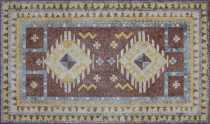 CR719 Geometrical Rug Design Art Floor Carpet
