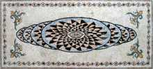 CR81 Optical illusion flowers mosaic