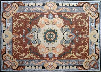 CR82(Polished Rug) Mosaic