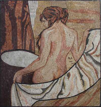 FG1043 Lady with Towel