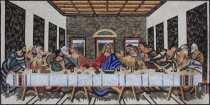 Da Vincis The Last Supper of Jesus Christ Wall Mosaic