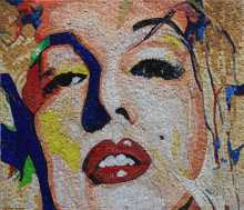 Marilyn Monroe Pop Art Mosaic