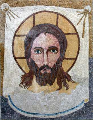 Face of Christ Wall Mosaic