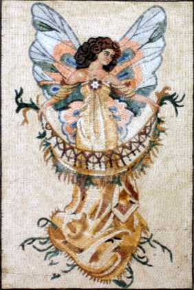 Angel Wall Mural Mosaic