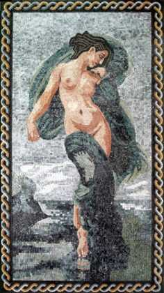 Flying Goddess Mosaic