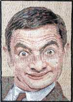 Mr Bean Art Mosaic