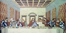 The Last Supper Christian Wall Mosaic