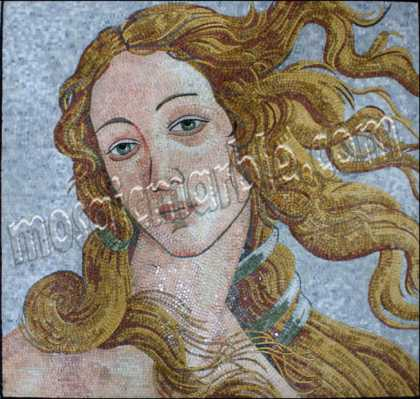 FG768 Boticelli Birth Of Venus Mosaic