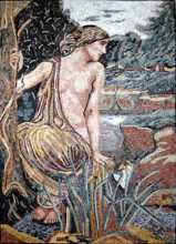 Narcissus the Goddess Mosaic
