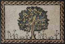 FL391 Tree of Life Wall Accent Art Deco  Mosaic