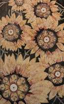 FL793 Sunflowers Yellow Bouquet Flower Garden  Mosaic
